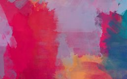 Grunge collage, watercolor style background Royalty Free Stock Photos