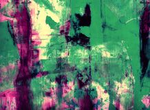 Grunge collage, watercolor style  background Royalty Free Stock Images