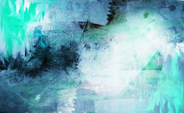 Grunge collage, watercolor style. Great background or texture for your projects Stock Image
