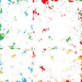 Grunge color brushed background  Royalty Free Stock Photos