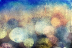 Grunge color texture. Blue and brown color, old cracked surface Stock Images