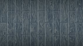 Dark gray wooden board. Woody oak texture. The form of parquet, laminate flooring, furniture. Grunge colored wood background. Vector illustration. Template for vector illustration