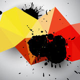 Grunge colorful abstract background Royalty Free Stock Photo