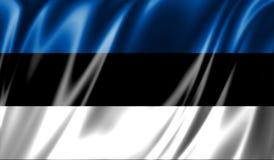 Grunge colorful background, flag of Estonia. Royalty Free Stock Image
