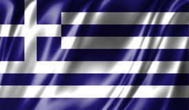 Grunge colorful background, flag of Greece. Stock Photo