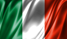 Grunge colorful background, flag of Ireland. Stock Images