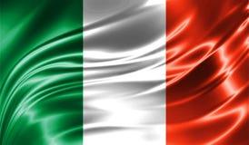 Grunge colorful background, flag of Ireland. Stock Photos