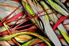 Grunge colorful background, graffiti wall Stock Photography