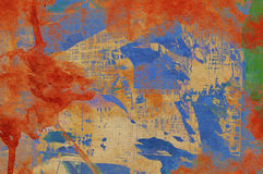 Grunge colorful background Royalty Free Stock Images
