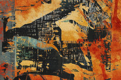 Grunge colorful background Stock Image
