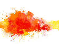 Grunge colorful banner. Royalty Free Stock Images