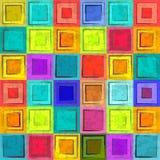 Grunge colorful retro seamless background Royalty Free Stock Photo