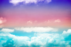 Grunge Colorful sky background Royalty Free Stock Images
