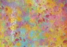 Grunge colorful texture walls Royalty Free Stock Images