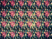 Grunge colorful triangles Stock Photo