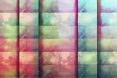 Grunge colorido quadriculado bonito do fundo Fotografia de Stock Royalty Free