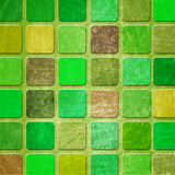 Grunge colourful squares Stock Photo