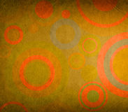 Grunge composition with circles ideal for backgrounds Royalty Free Stock Photography
