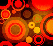 Grunge composition with circles ideal for backgrounds Royalty Free Stock Photo
