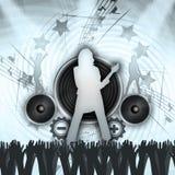 Grunge Concert Stock Photo