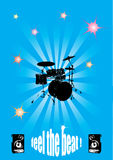 Grunge Concert Poster Royalty Free Stock Photo