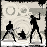 Grunge concert vector Royalty Free Stock Photo