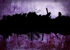 Grunge concerte background Stock Image
