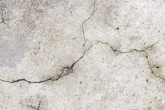 Grunge concrete cement wall with crack in industrial building, g Royalty Free Stock Image