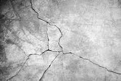 Grunge concrete cement wall. With crack in industrial building, great for your design and texture background Stock Images