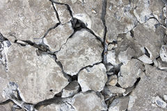 Grunge concrete cement wall with crack in industrial building stock images