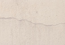Grunge concrete cement wall with crack Royalty Free Stock Images