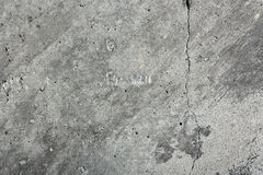 Grunge Concrete Gray Wall Texture Royalty Free Stock Images