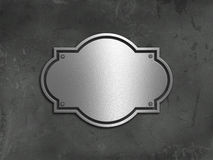 Grunge concrete and metal background Stock Image