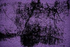 Grunge concrete neutrale ultra purpere textuur, steenoppervlakte, cementachtergrond Royalty-vrije Stock Foto's