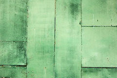 Grunge concrete sheet  wall paint in green colour ,Background Stock Photography