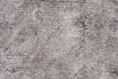 Grunge concrete texture. Grey asphalt road top view photo. Distressed and obsolete background texture. Royalty Free Stock Image