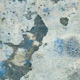 Grunge concrete wall covered with old crumbling plaster, texture. D background Stock Image