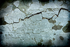 Grunge concrete wall texture. Grunge background cracked, damage, dark, decoration Royalty Free Stock Image