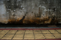 Grunge concrete wall Stock Photos