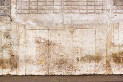 Grunge concrete wall Stock Images