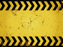 Grunge construction sign Royalty Free Stock Images