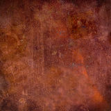 Grunge Copper. A grunge copper texture with scratches Stock Photos