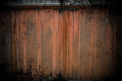 Grunge Copper Wall. Worn and rusted copper wall background Stock Images