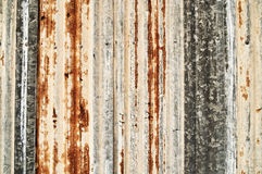 Grunge corrugated metal Stock Photo