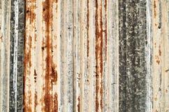 Grunge corrugated metal stock photo