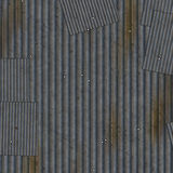 Grunge corrugated metal. Royalty Free Stock Photos
