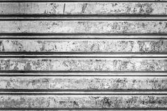 Grunge corrugated metal Stock Image