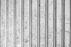Grunge corrugated metal Royalty Free Stock Image