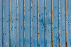 Grunge corrugated metal background Royalty Free Stock Photo