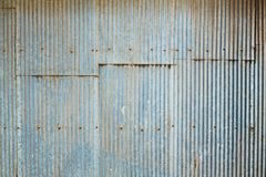 Grunge Corrugated Zinc Sheet Stock Photos